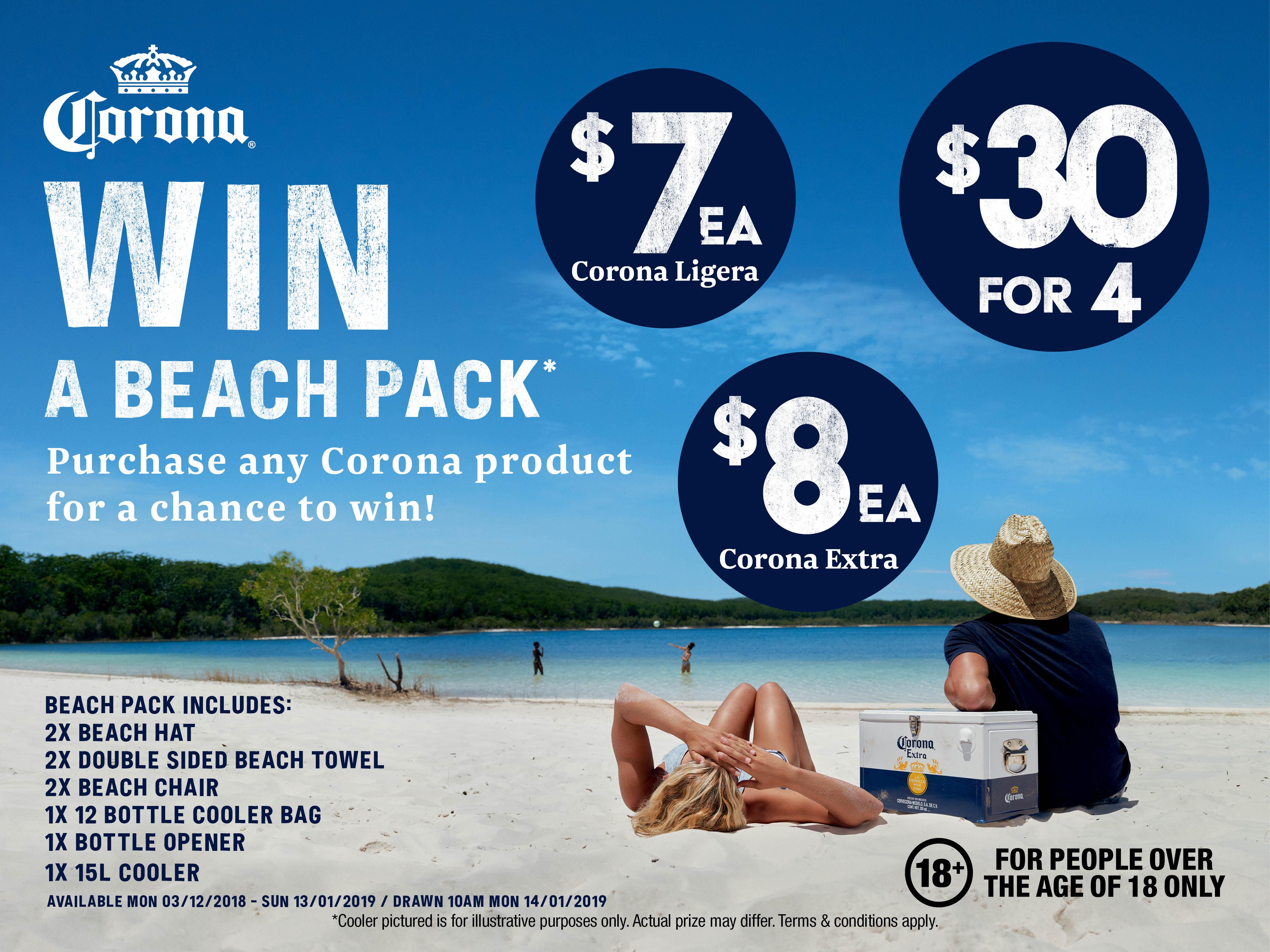 Corona - Beach Pack Promo